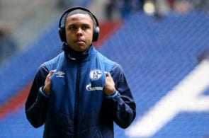 GELSENKIRCHEN, GERMANY - MARCH 16: Weston McKennie of Schalke lookas on prior to the Bundesliga match between FC Schalke 04 and RB Leipzig at Veltins-Arena on March 16, 2019 in Gelsenkirchen, Germany. (Photo by Christof Koepsel/Bongarts/Getty Images)