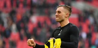 LONDON, ENGLAND - APRIL 07: Gerard Deulofeu of Watford celebrates victory after the FA Cup Semi Final match between Watford and Wolverhampton Wanderers at Wembley Stadium on April 07, 2019 in London, England. (Photo by Dan Mullan/Getty Images)