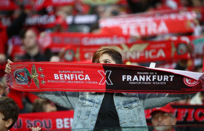 Resultado de imagen para benfica frankfurt