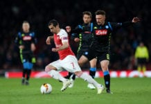 Arsenal v S.S.C. Napoli - UEFA Europa League Quarter Final : First Leg