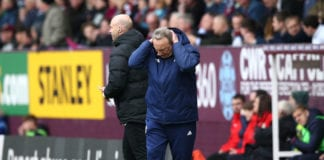 BURNLEY, ENGLAND - APRIL 13: Neil Warnock, Manager of Cardiff City reacts during the Premier League match between Burnley FC and Cardiff City at Turf Moor on April 13, 2019 in Burnley, United Kingdom. (Photo by Jan Kruger/Getty Images)