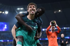 Manchester City v Tottenham Hotspur - UEFA Champions League Quarter Final: Second Leg Llorente