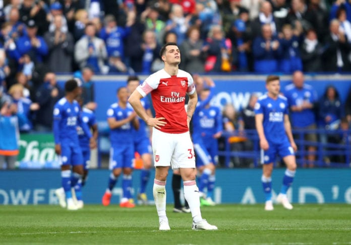 879a9dcb5 Xhaka says Arsenal doesn t deserve to be talking about a top-four ...