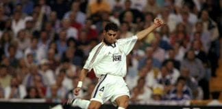Real Madrid v Barcelona Fernando Hierro of Real Madrid