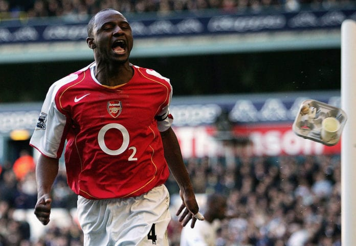 buy popular 8f1f0 9521c Quiz: How deep is your knowledge about Patrick Vieira ...