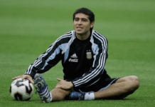 FIFA Confederations Cup 2005 Argentina Training