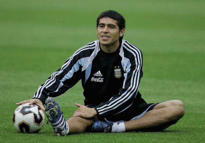5814741c9 Football Legends  Juan Roman Riquelme - Ronaldo.com
