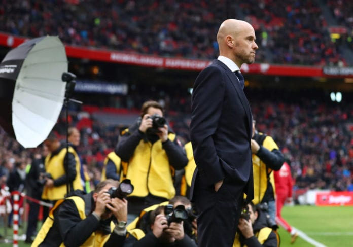Erik Ten Hag The Ajax Manager Who Learned From Guardiola Ronaldo Com