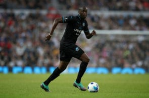 MANCHESTER, ENGLAND - JUNE 10: Yaya Toure controls the ball during the Soccer Aid for UNICEF 2018 match between England and The Rest of the World at Old Trafford on June 10, 2018 in Manchester, England. (Photo by Lynne Cameron/Getty Images)