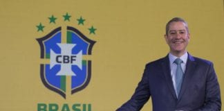 Rogério Caboclo, Brazil Football Association (CBF) president. Photo: Lucas Figueiredo/CBF.