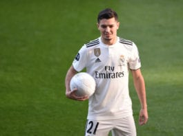 Real Madrid Unveil New Signing Brahim Diaz