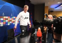 BARCELONA, SPAIN - APRIL 15: Ole Gunnar Solskjaer, Manager of Manchester United arrives for a press conference ahead of their second leg in the UEFA Champions League Quarter Final match against FC Barcelona at Camp Nou on April 15, 2019 in Barcelona, Spain. (Photo by Michael Regan/Getty Images)