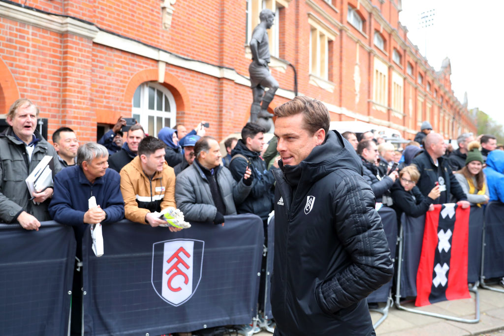 LONDON, ENGLAND - APRIL 27: Scott Parker, Caretaker Manager of Fulham arrives at the stadium prior to the Premier League match between Fulham FC and Cardiff City at Craven Cottage on April 27, 2019 in London, United Kingdom. (Photo by Catherine Ivill/Getty Images)