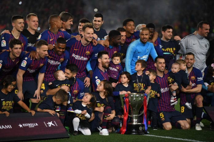 5f54c4f42fe Barcelona travel to Eibar on Sunday afternoon for the last round of the  2018-19 La Liga campaign.