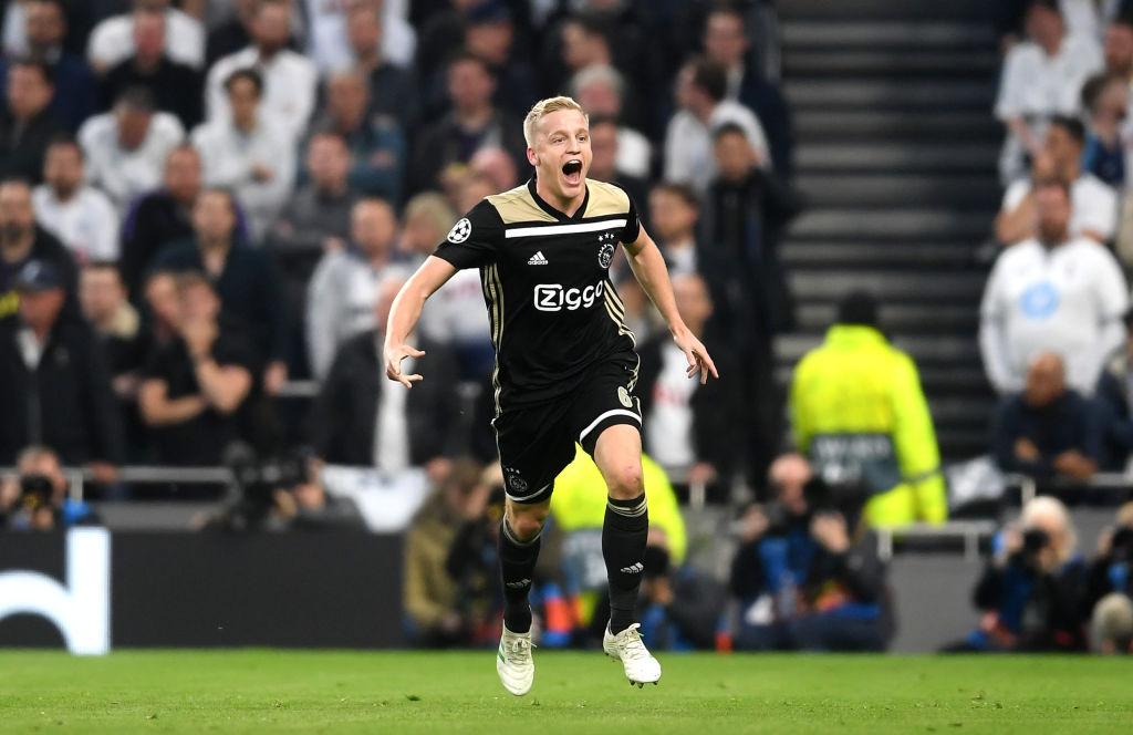 Tottenham Hotspur v Ajax - UEFA Champions League Semi Final: First Leg