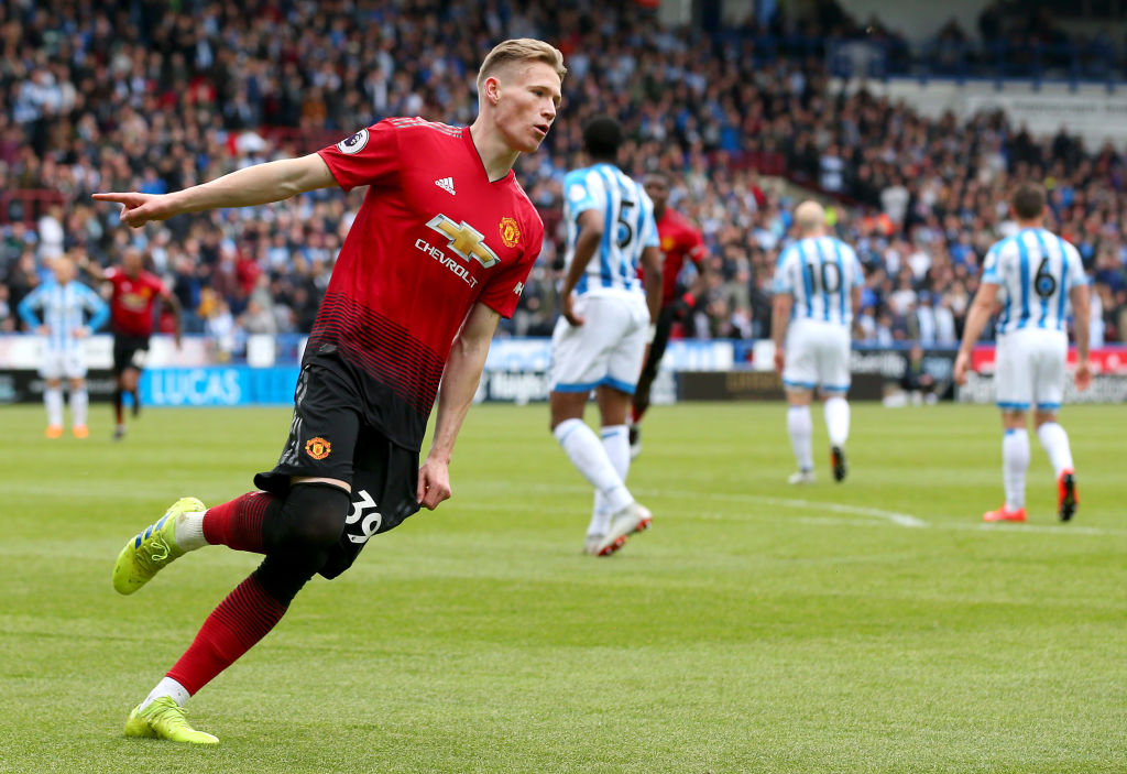 Huddersfield Town v Manchester United - Premier League, Scott McTominay
