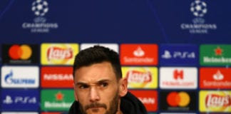 AMSTERDAM, NETHERLANDS - MAY 07: Hugo Lloris looks on during a Tottenham Hotspur press conference on the eve of their UEFA Champions League semi final against Ajax at Johan Cruyff Arena on May 07, 2019 in Amsterdam, Netherlands. (Photo by Dean Mouhtaropoulos/Getty Images)