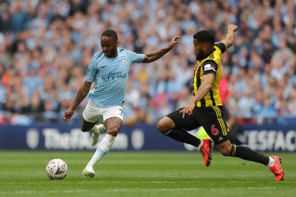 Manchester City v Watford - FA Cup Final Raheem Sterling