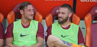 De Rossi discredits claims he wanted Totti out of Roma