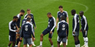 France Training And Press Conference