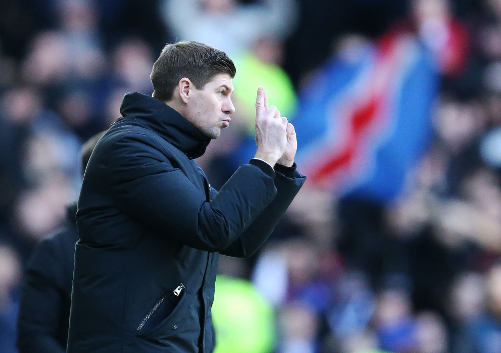 Gerrard on Derby: 'I'm aware, but there's nothing to say on it'