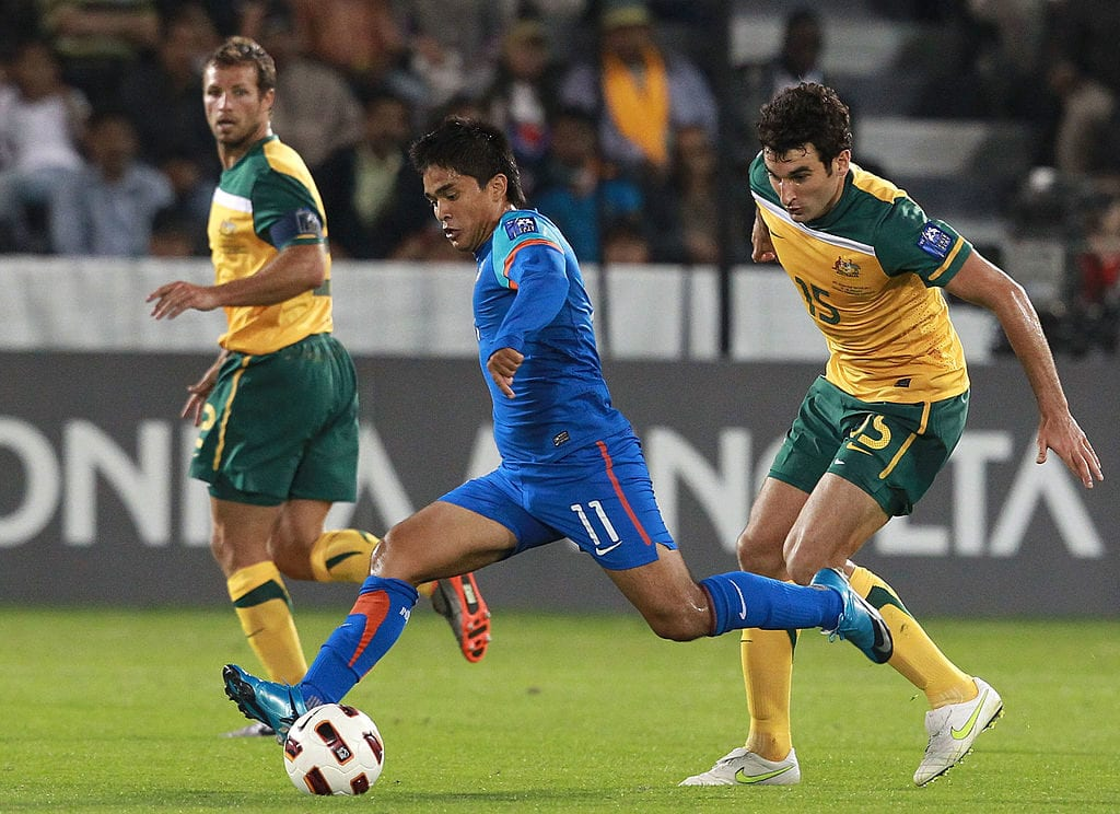 Sunil Chhetri is India's best goalscorer