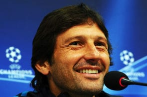 Thiago Silva reacts to Leonardo's return to PSG
