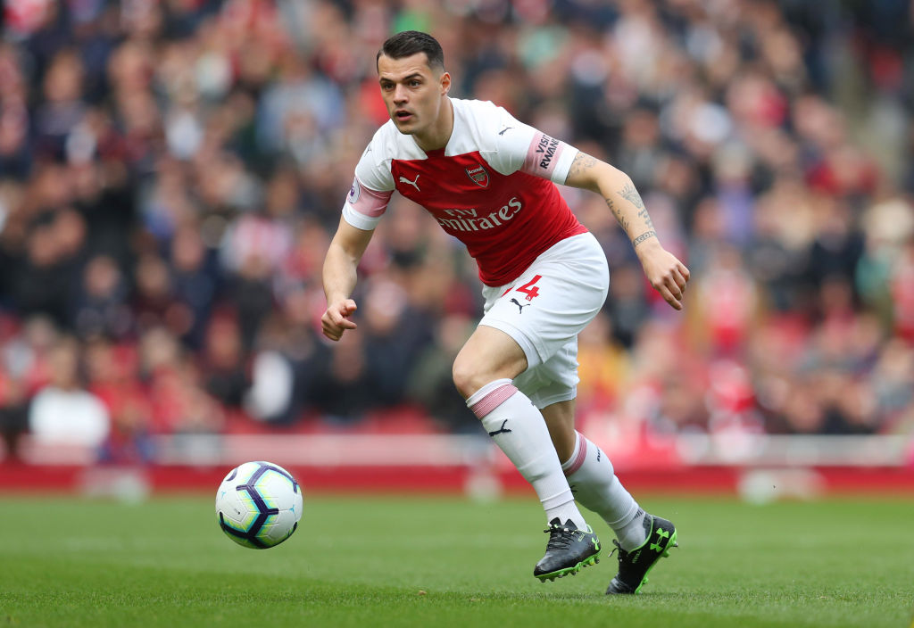 Xhaka to only focus on his Nations League performance