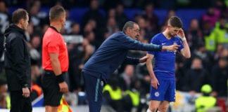 Maurizio Sarri, Jorginho, Chelsea