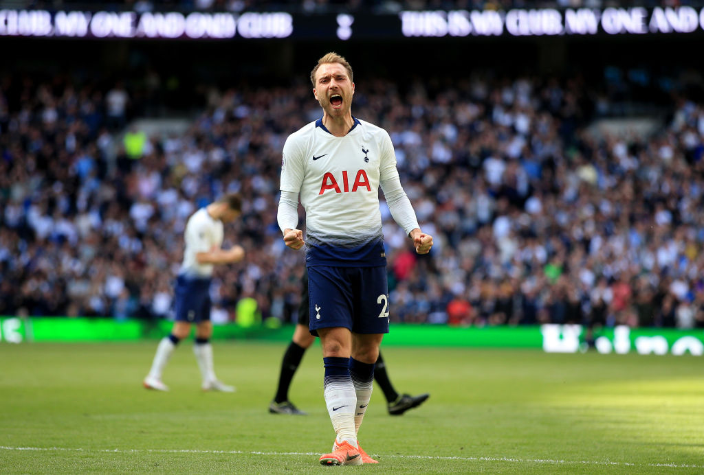 Real Madrid could do worse than Christian Eriksen