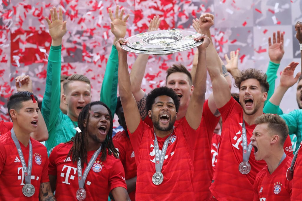 Serge Gnabry named Bayern Munich's Player of the Season