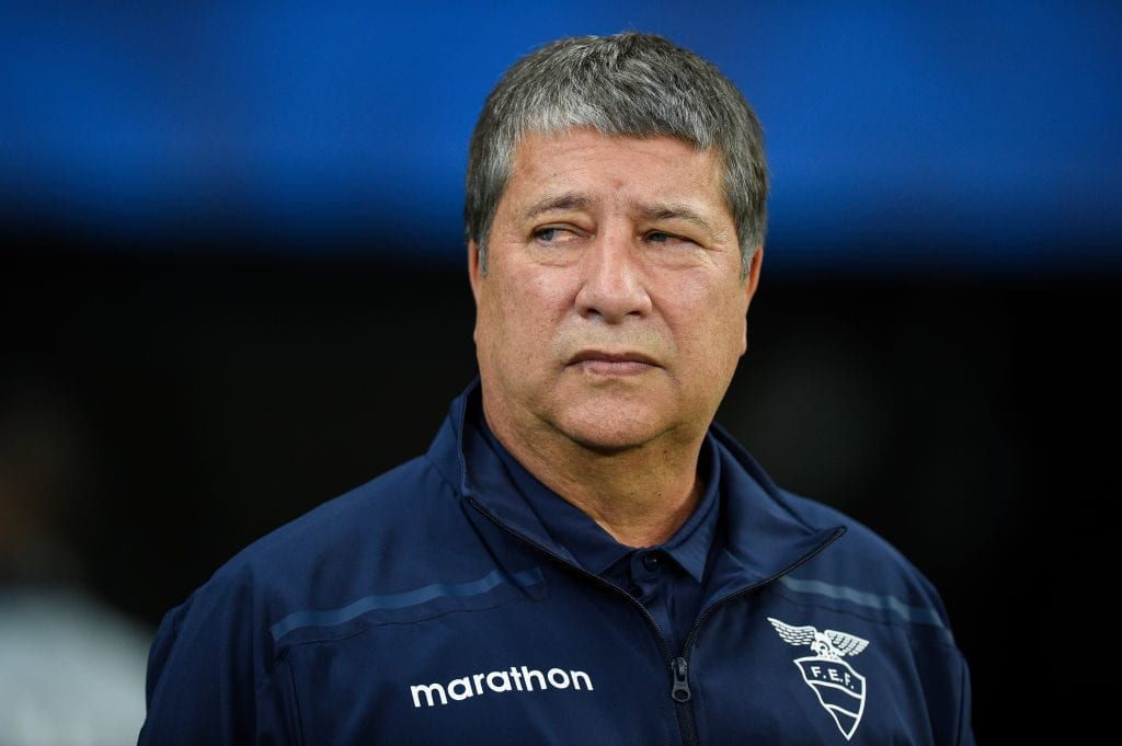 Hernán Darío Gómez will be looking to avoid a repeat of the 4-0 defeat against Chile