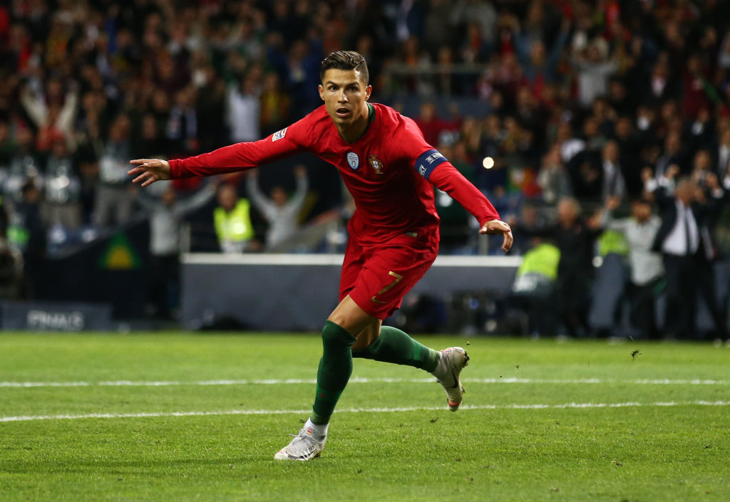 Cristiano Ronaldo is the greatest, active goalscorer in international football