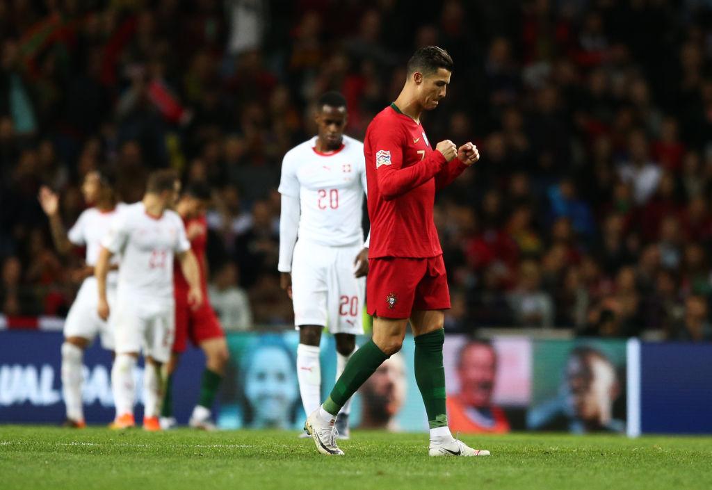 Ronaldo's hat-trick got fans going crazy over it