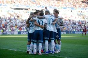 Argentina v Venezuela: Quarterfinal - Copa America Brazil 2019