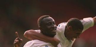 WIMBLEDON V LEEDS Tony Yeboah