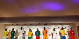 Puma 2012 African Kit Launch