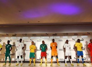 Puma 2012 African Kit Launch
