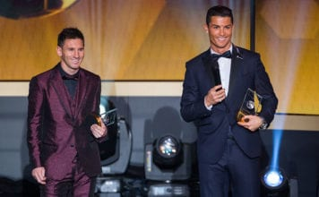 messi, ronaldo, the best