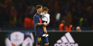 Messi's son teases him on Valencia and Liverpool defeats