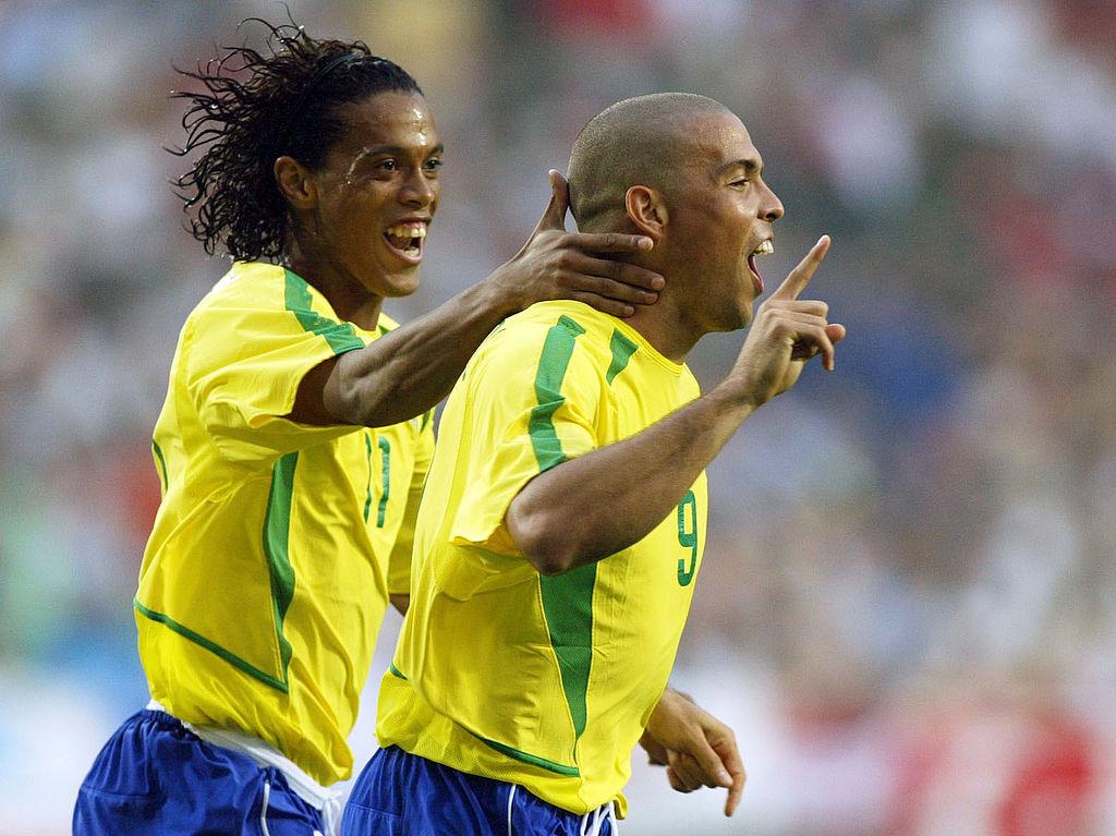 FUSSBALL : WM 2002 in JAPAN und KOREA , BRA - TUR 2:1