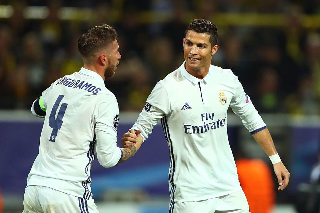 Sergio Ramos, Cristiano Ronaldo