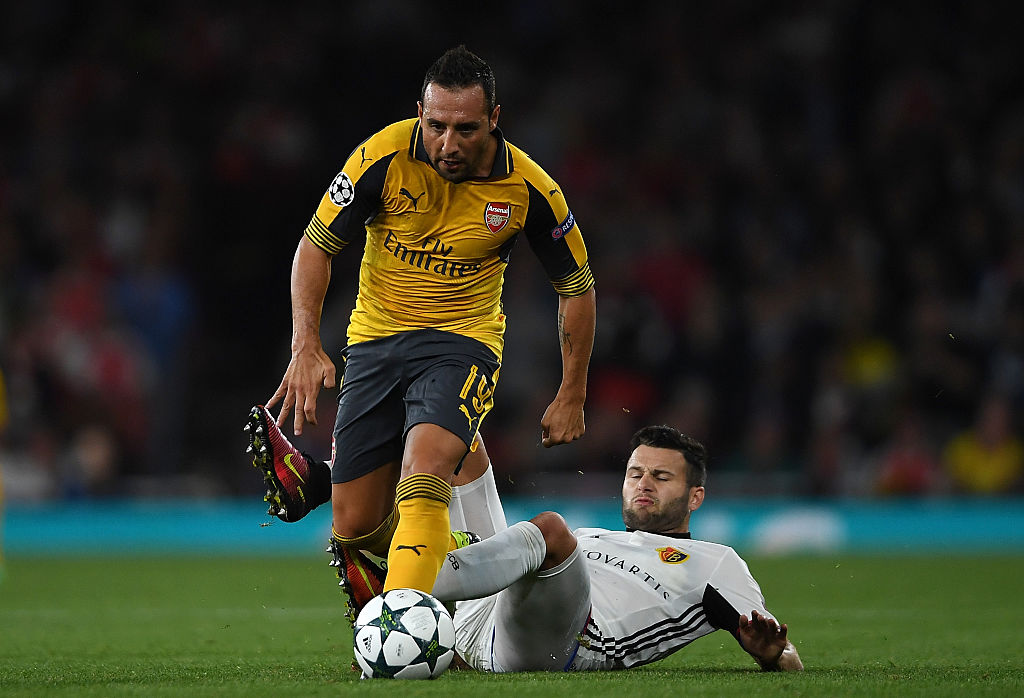 Santi Cazorla, the man who left Arsenal in regret