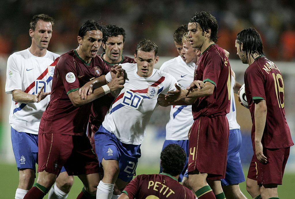 Round of 16 Portugal v Netherlands - World Cup 2006