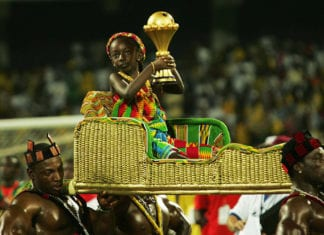 AFCON Final - Cameroon v Egypt