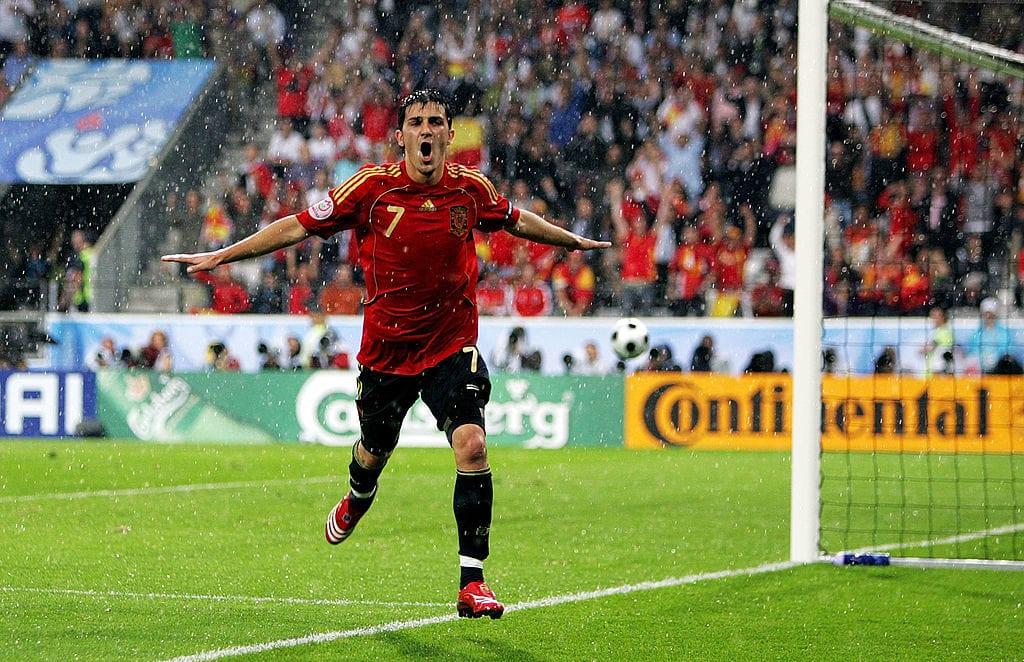 David Villa is Spain's top goalscorer