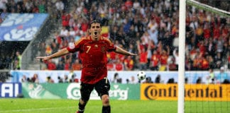 David Villa is Spain's top goalscorer