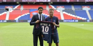 Neymar broke transfer records moving to PSG