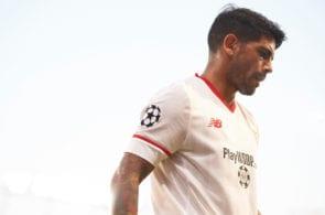 Sevilla FC v Istanbul Basaksehir F.K. - UEFA Champions League Qualifying Play-Offs Round: Second Leg Banega