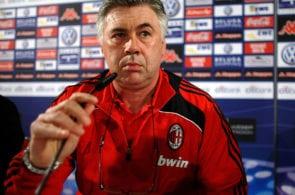 Carlo Ancelotti at AC Milan